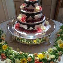 ケーキも可愛いのがあります。