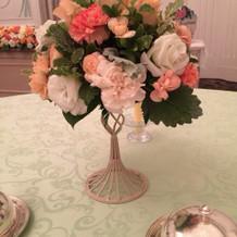 お花は最後ラッピングでプレゼント