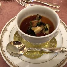 茶碗蒸し風の温かい料理