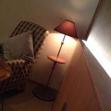 併設のホテルはオシャレな雰囲気