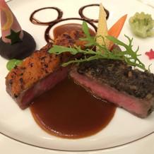 肉料理(ミッキー仕様)