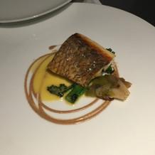 お魚のお料理です。
