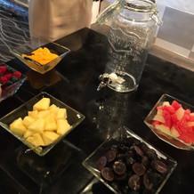 果実酒のフルーツ