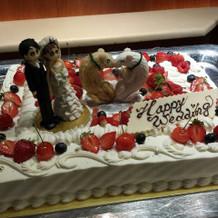 デザインウェディングケーキ