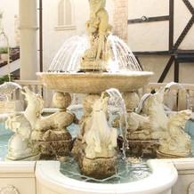 フォンターナ広場の噴水