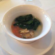 当日のスープは別のものにして頂きました