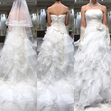 見積もり内価格のドレス