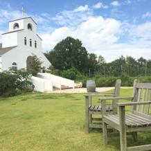 教会とても素敵です~!!