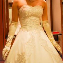 タカミブライダルのウェディングドレス