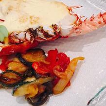 伊勢海老がとても美味しかったです。
