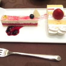 チーズケーキが美味しかったです