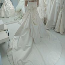 王道のウエディングドレス