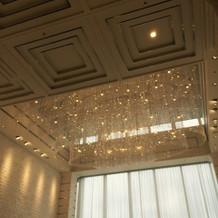 チャペルの天井です
