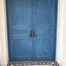 ブルードア入口