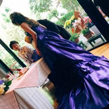 武井咲さんのブランドのドレスです。
