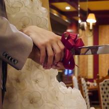 ケーキカット用ナイフ