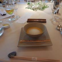 スープがとくに好評でした。