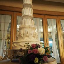 ケーキはイミテーションです