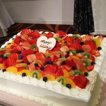 ケーキめっちゃ美味しい💡