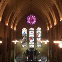 重厚感のあるヨーロッパ風の教会