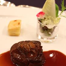 黒毛和牛フィレ肉のポワレ