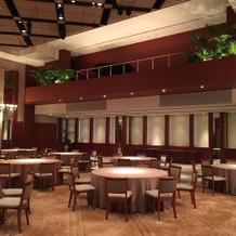披露宴会場の2階にはピアノもありました。