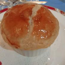 スープのパイ包み焼き