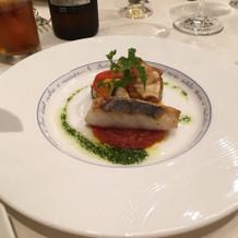 お魚が新鮮で、食感も楽しめました。