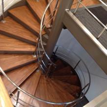 衣装室へ繋がる階段!憧れでした