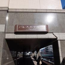 駅から直結の入口