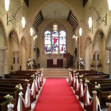 ガーデンコートの教会