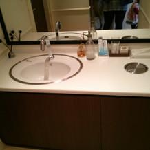 トイレ手洗いスペース