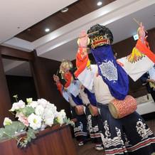 伝統芸能・会津彼岸獅子による祝舞