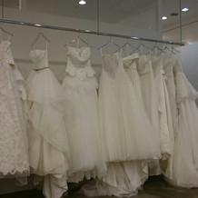 12万円ほどプラスすると着られるドレス