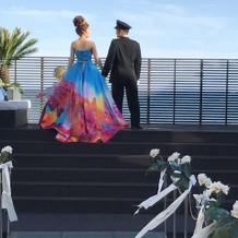 蜷川実花のカラードレス