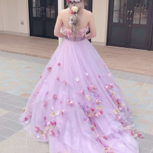 素敵なラプンツェルのドレス!