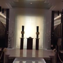 チャペル祭壇