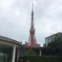 東京タワーがすぐそばに★
