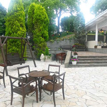 グランヴァンベールお庭