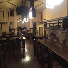 食堂と呼ばれる披露宴会場