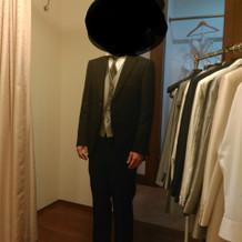 小樽店での衣装会わせです。プラン内衣装