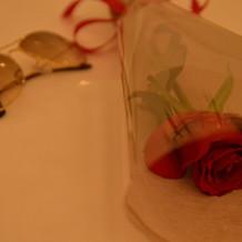 プロポーズでもらったバラです