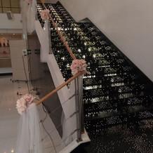 キラキラ階段
