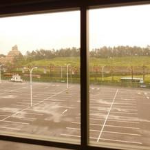 オーシャンブルーからのパーク側の眺め