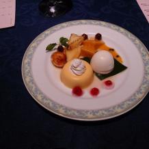 洋食 デザート