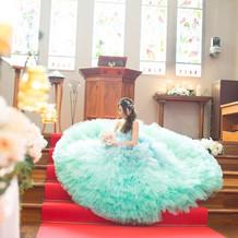 kiyoko hataさんのドレス