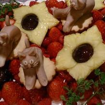 パテシエと相談したケーキ