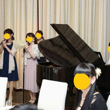 余興~ピアノも使用できます。
