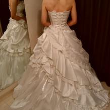 いろいろなドレス姿が見れて大満足です