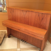 ピアノもありました。